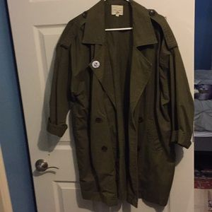 Urban Outfitter Army Green Cargo Jacket